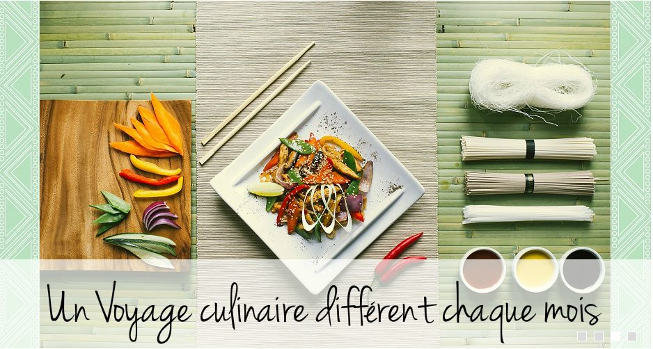 box culinaire pays
